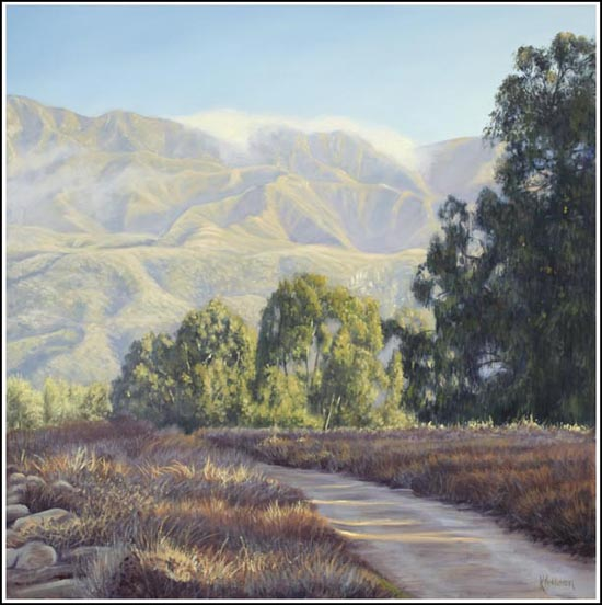 carpinteria bluffs landscape painting